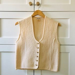 Vintage Tamaron Medium Weight Wool Vest